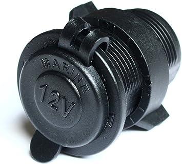 Waterproof Marine Motorcycle ATV Rv Lighter Socket Power Outlet Socket 12v Plug