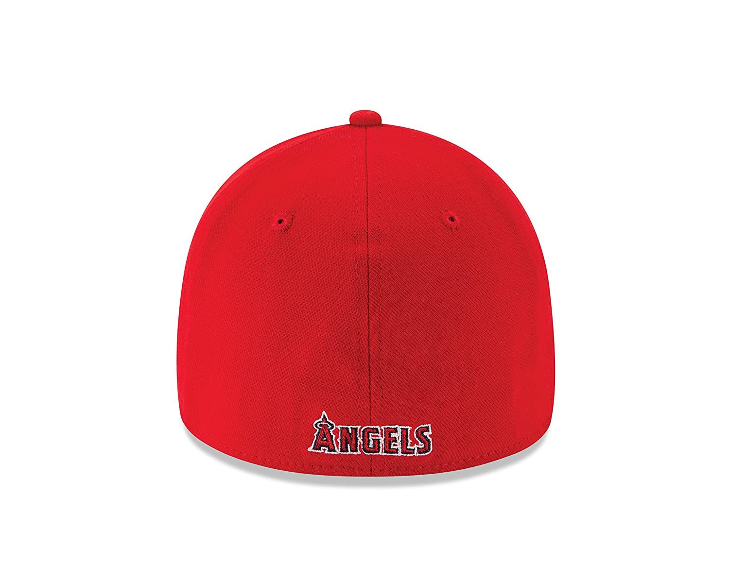 Amazon.com   New Era Los Angeles Angels of Anaheim Game Team Classic  39THIRTY Stretch Fit Hat Red   Sports   Outdoors eec8e9477222