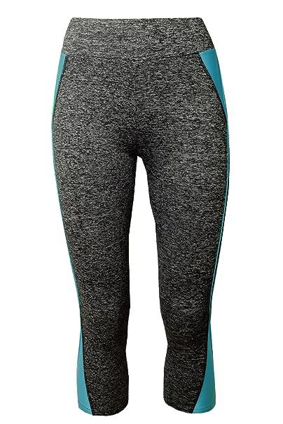 3 4 GoVia leggins para damas pantalones deportivos largos para Training  Running Yoga Fitness transpirables con cintura alta 4120 Azul S M   Amazon.es  Ropa y ... 87d6046585ef