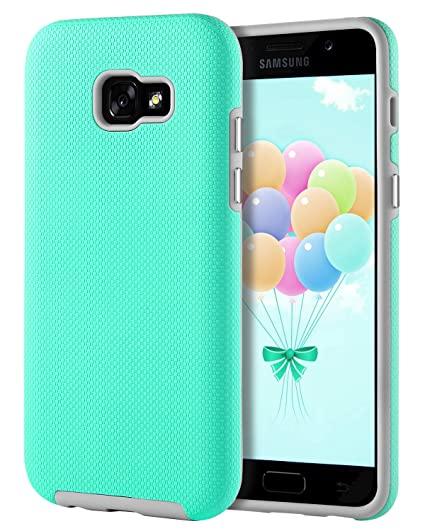 save off 4f550 a732a Samsung Galaxy A5 2017 Case GUAGUA Slim Lightweight Dual Layer Hybrid Hard  PC Cover Soft Bumper Anti-Slip Shockproof Protective Phone Cases for ...