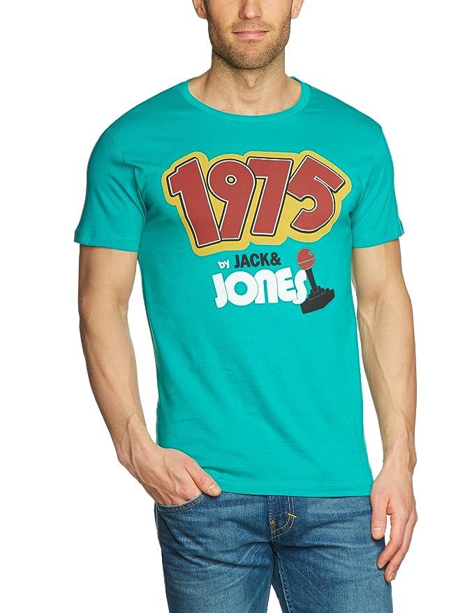 JACK & JONES Herren T-Shirt Slim Fit 12069732 SPRING TEE S/S ORG:  Amazon.de: Bekleidung