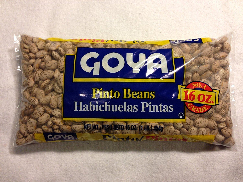 GOYA Dried Lentils, Pinto Beans, Yellow Split Peas & Green Split Peas - Variety Pack - 16oz Each 1 Lb Bag (4 Pack) Split Pea or Lentil Soup - Refried Beans - Recipes on Bag, Dip, Healthy Protein by Goya (Image #2)