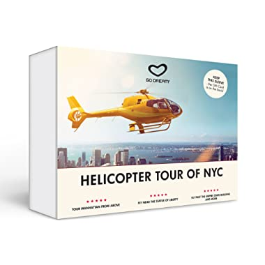 Helicopter Tour Sighseeing in New York Experience Gift Card NYC - GO DREAM - Sent in a Gift Package