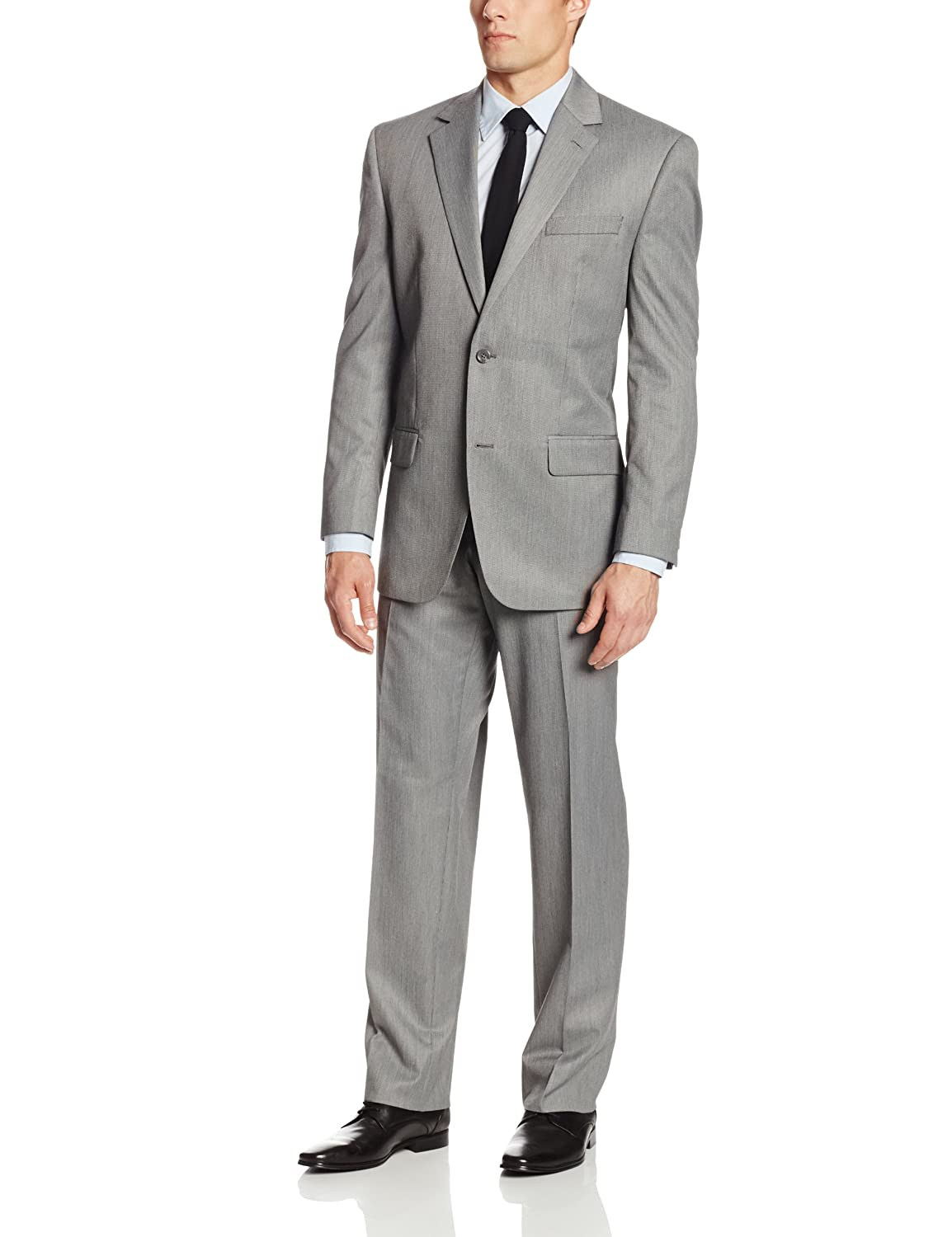 Bill Blass Men's Trent Tic Suit Calvin Klein Tailored