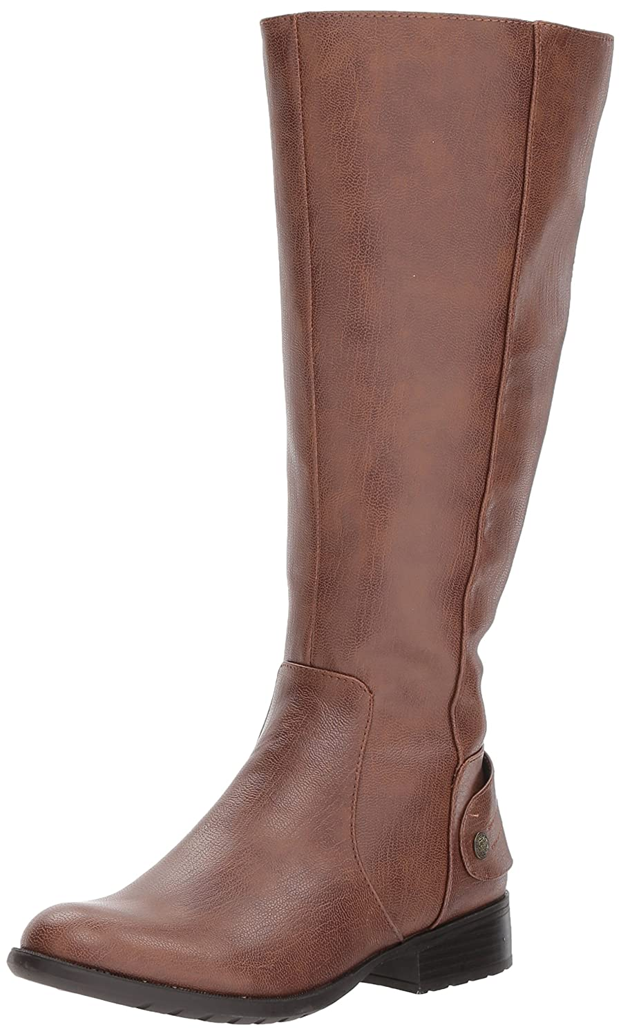 LifeStride Women's Xandywc Equestrian Boot B075FCKPS2 11 W US|Dark Tan Wc