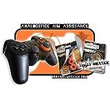 """AAA-Shocks (Analogstick Aim Assistance Stossdämpfer Zielhilfe für FPS Spiele): Spezial Edition """"uggly orange infantry"""" PlayStation 3"""