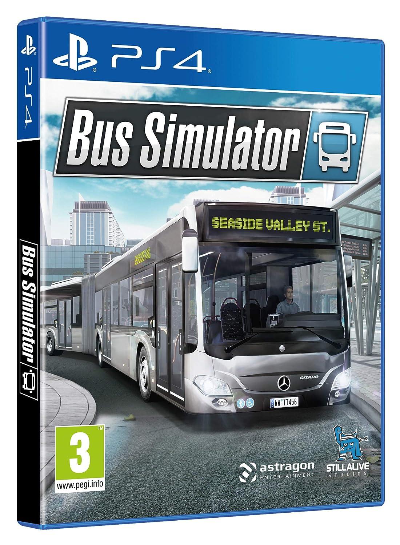 Amazon.com: Bus Simulator PS4: Video Games