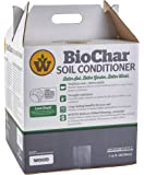 Wakefield Biochar Soil Conditioner - Premium - 1 Cu/Ft Box (7.5 Gallons) - 100% Biochar - USDA Certified