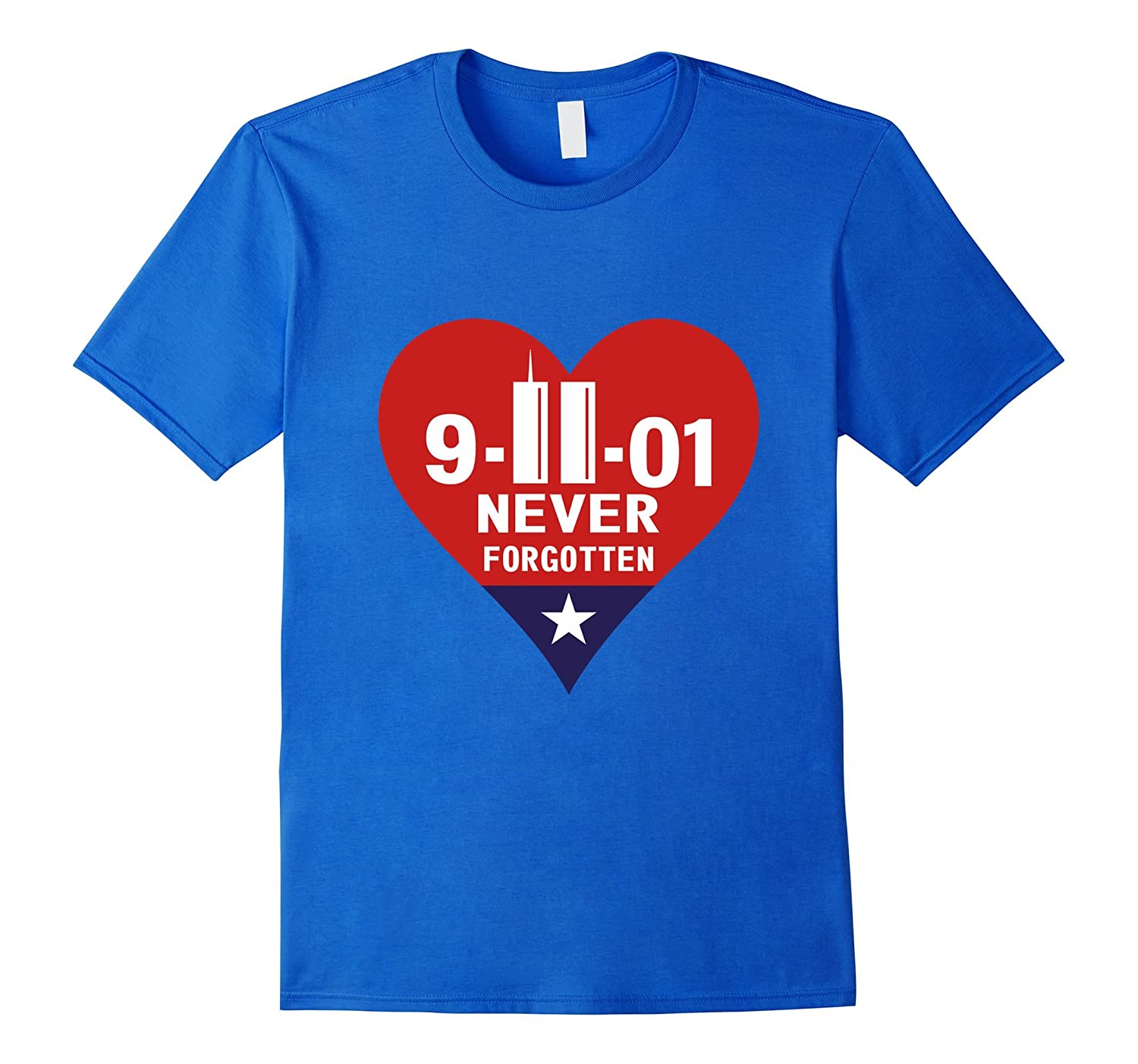 9/11/2001 American 16 Year Anniversary Never Forget T-Shirt-CL