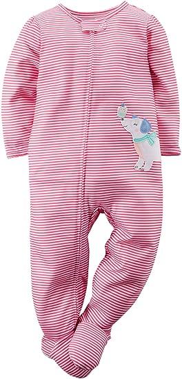 5c3746add Amazon.com  Carters Toddler Girls Cupcake Pup Sleep   Play 3T Pink ...