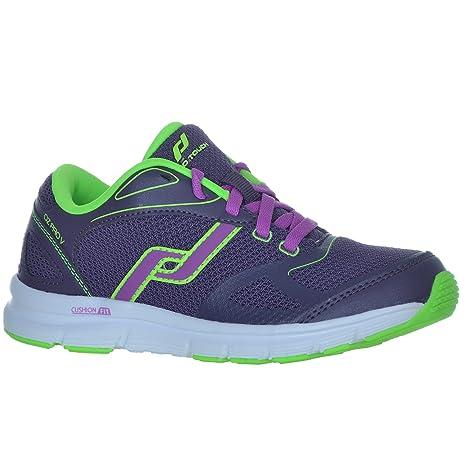 sélection premium f6478 6f4c7 Intersport PRO TOUCH OZ PRO V Jr Running Shoe Purple/Lime ...