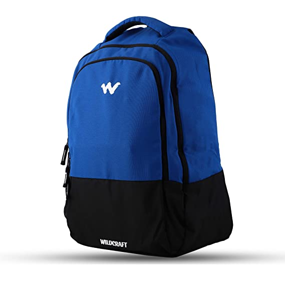 Buy Wildcraft Laptop Bag Spark 1 Blue Wildcraft Free Raincover Rs 399 At Amazon In