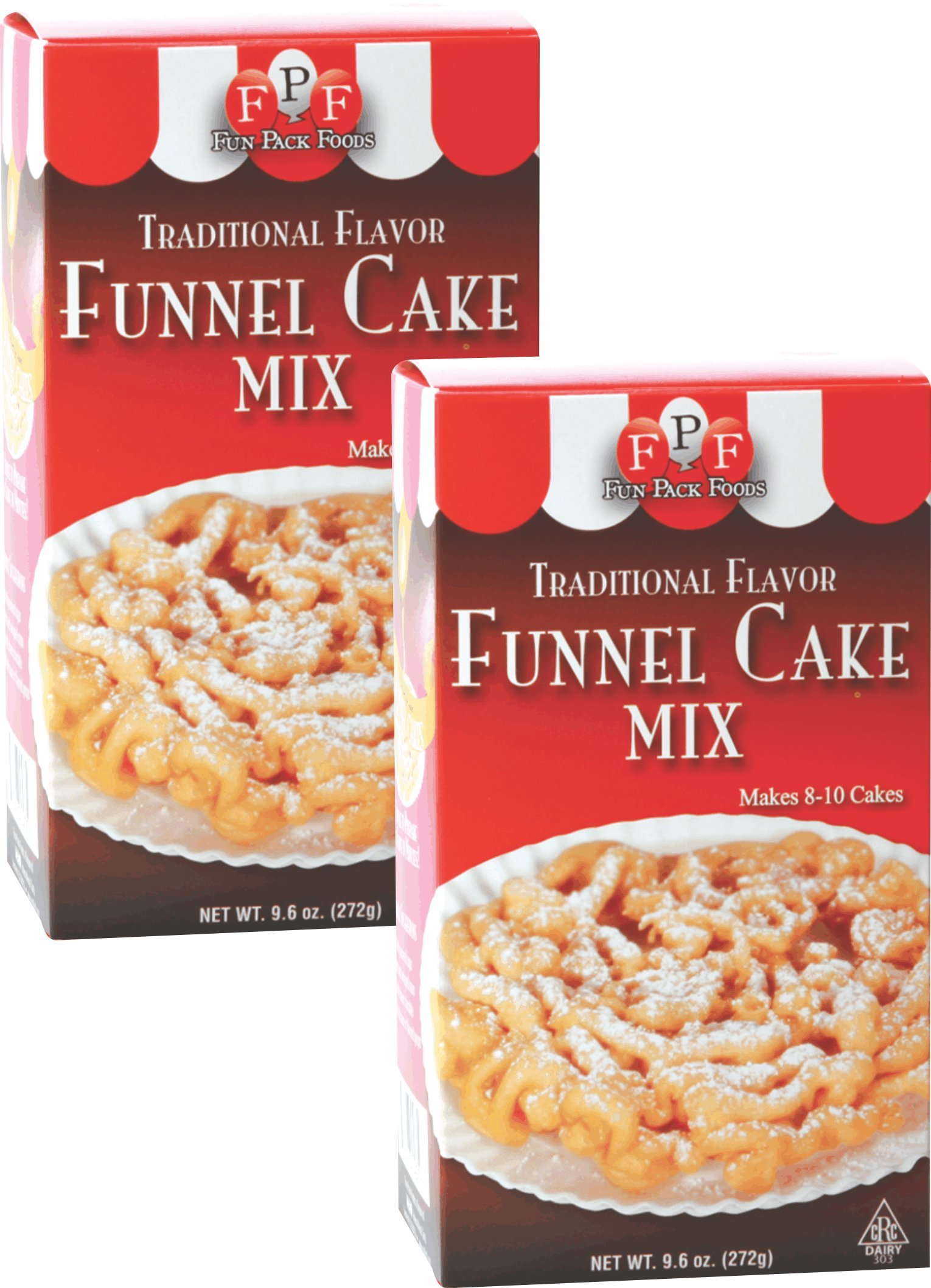 Fun Pack Foods Funnel Cake Mix (Pack of 2)