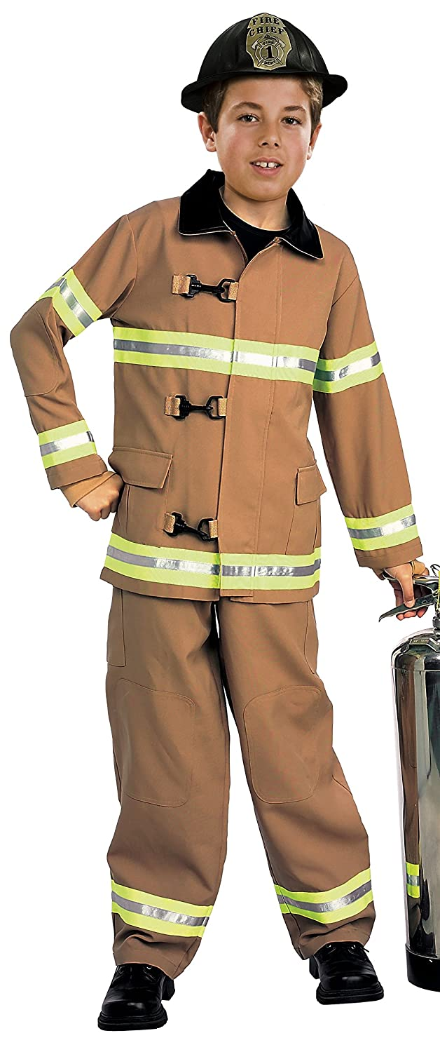 amazoncom young heroes childs fire fighter costume toddler toys games - Fireman Halloween