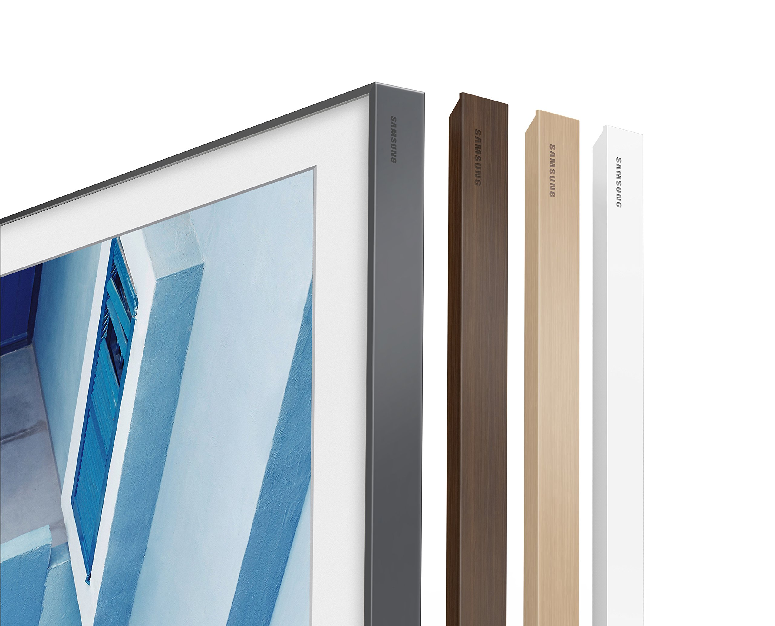 Samsung Electronics 43'' Customizable Frame Beige/Light Wood Finish (VG-SCFM43LW/ZA)