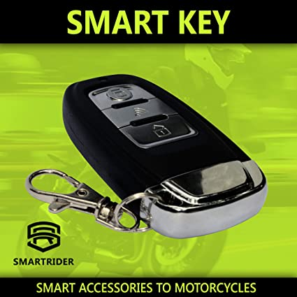 Amazon.com: Smart Keyless Alarm System Motorcycle Anti-theft ...