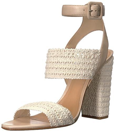 Schutz Women's Glendy Espadrille Sandal, Cru/Vanilla, ...