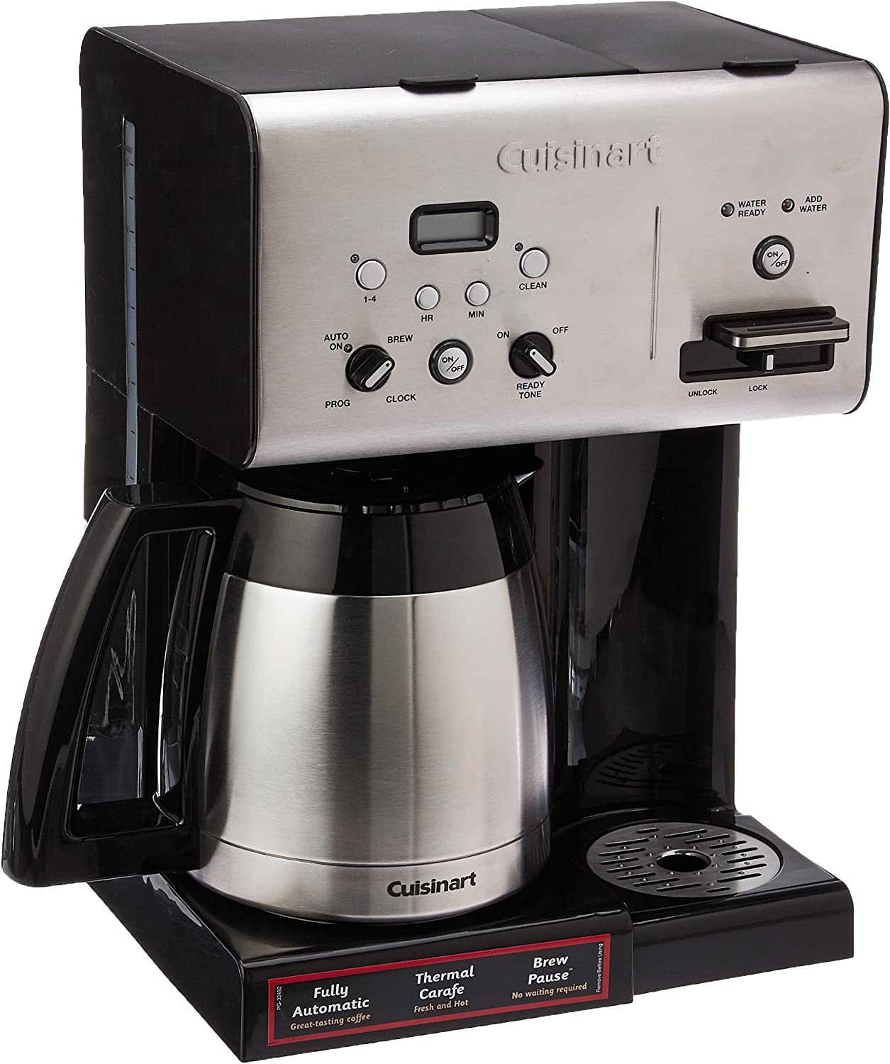 CUISINART CHW-14 COFFEE THERMAL ROGRAMMABLE COFFEE MAKER