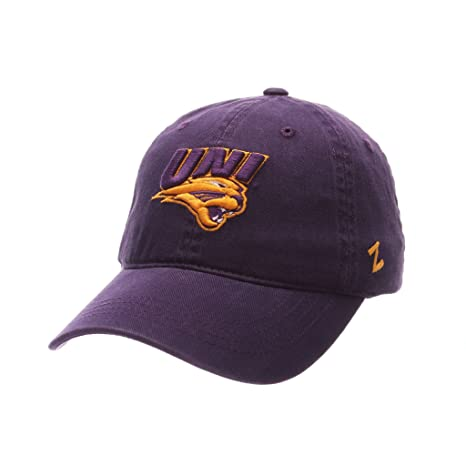on sale 0fb00 61623 Image Unavailable. Image not available for. Color  Zephyr MEN S NORTHERN  IOWA PANTHERS SCHOLARSHIP WASHED ADJUSTABLE HAT PURPLE