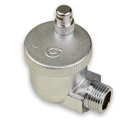 Caleffi 504401 AERCAL Válvula automática 1/2 M de Purga de Aire para