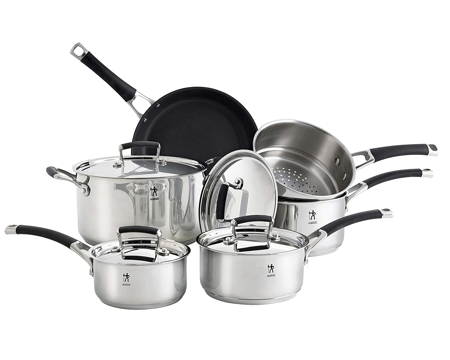 Henckels International 'Synergy' 10 Piece Cookware Set - Disc J.A Henckels International