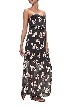 Hailys Damen Bandeau Kleid Maxikleid Sommerkleid  Amazon.de  Bekleidung d4fc75f99d