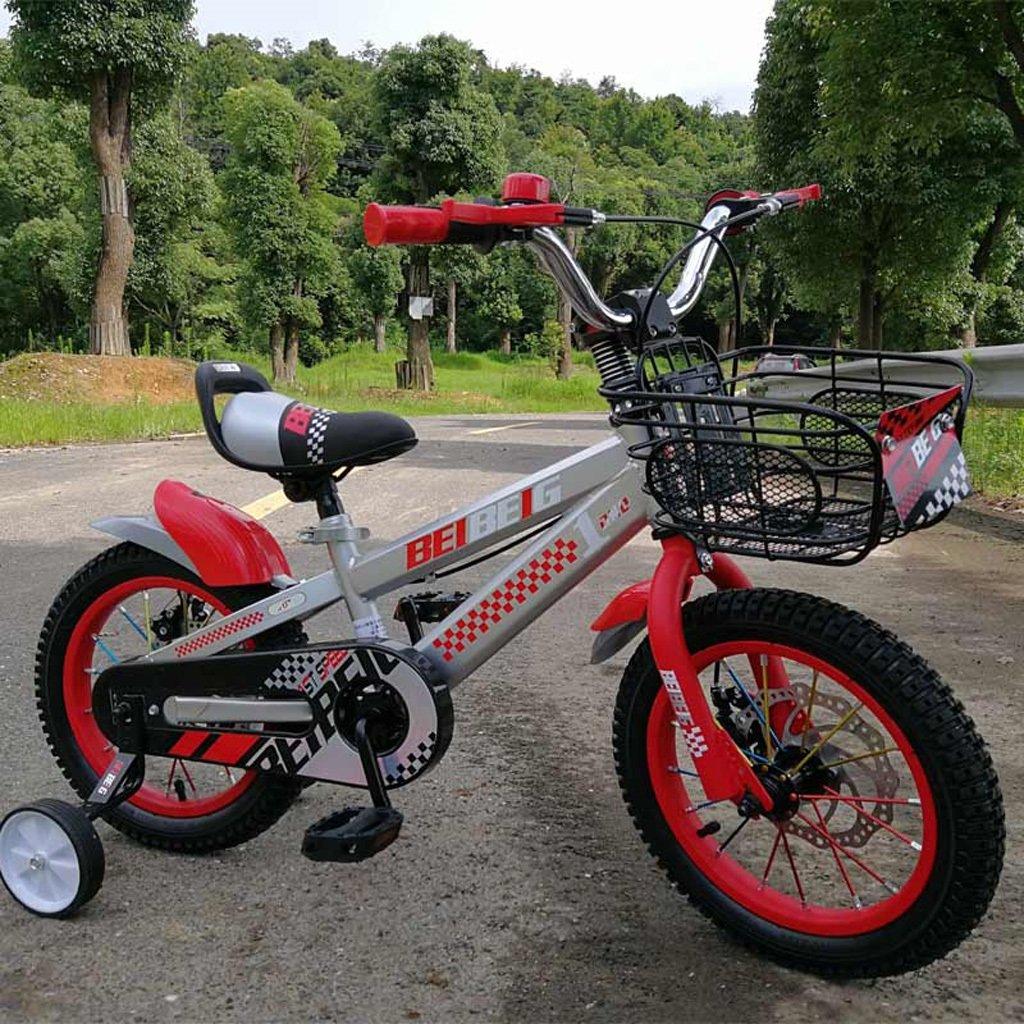 Fenfen子供の自転車12 /14 /16インチBaby Carriage 3 – 8 Years Old Babyペダル自転車アルミ合金リングシルバー B07DP25CLW 14 inch orange