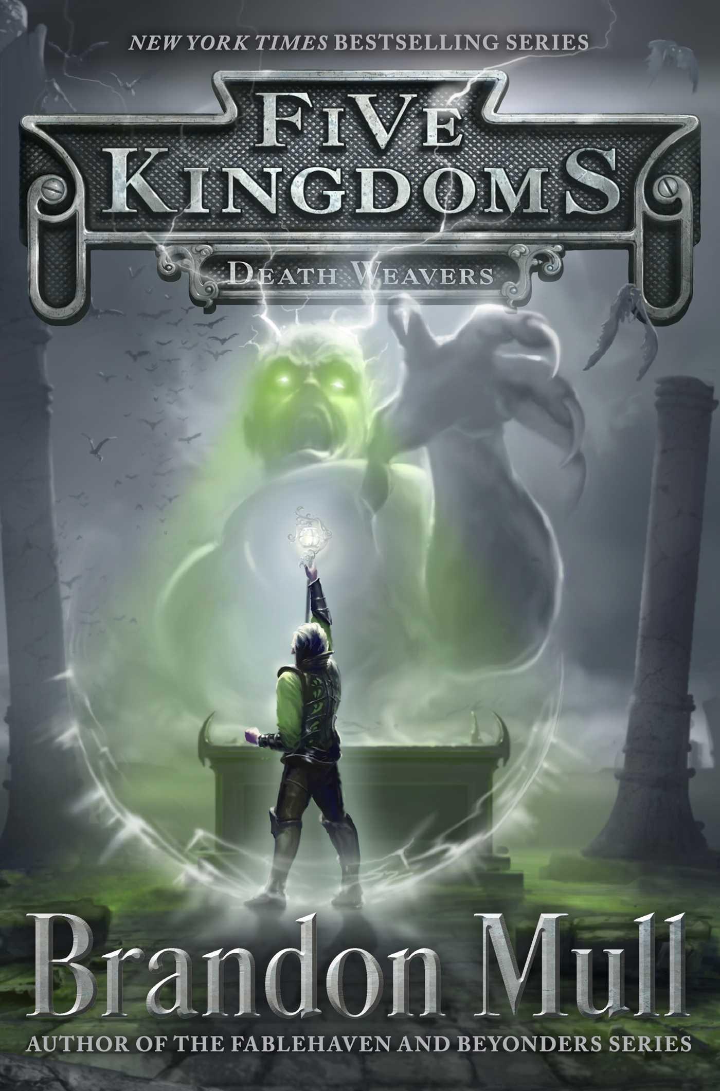 Death Weavers (Five Kingdoms): Brandon Mull: 9781442497108: Amazon ...