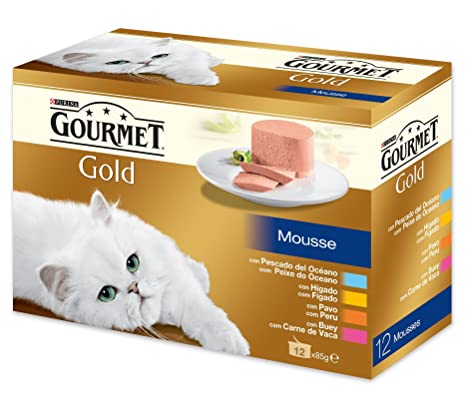 Gourmet - Gold Mousse Pack Surtido 12 x 85 g - 1020 g