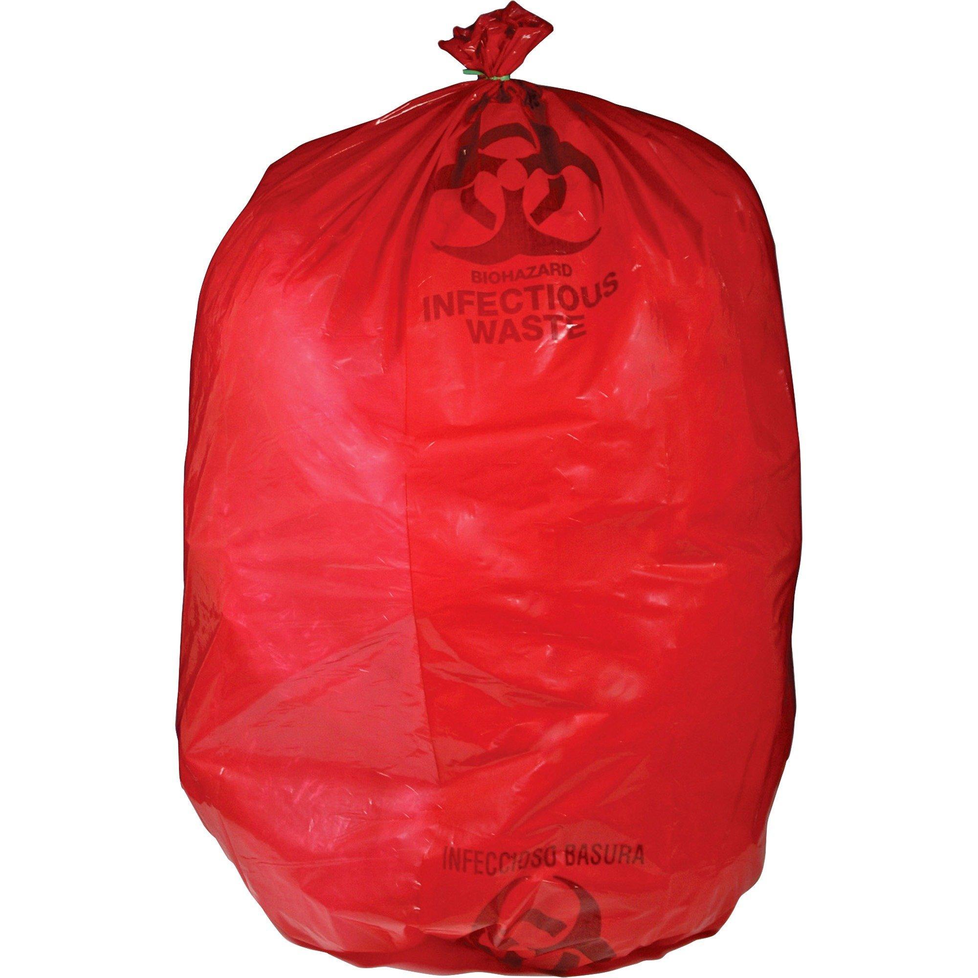 UMIRIWB142143 - Biohazard Waste Bag, 30-33 Gallon, 50/BX, Red