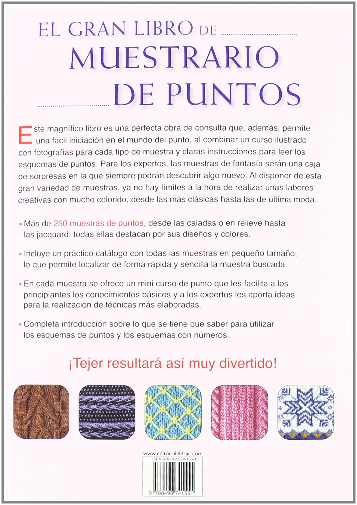 El gran libro de muestrario de puntos / The Great Book of Needlepoint Samples (Spanish Edition): Eva Domingo: 9788498741551: Amazon.com: Books