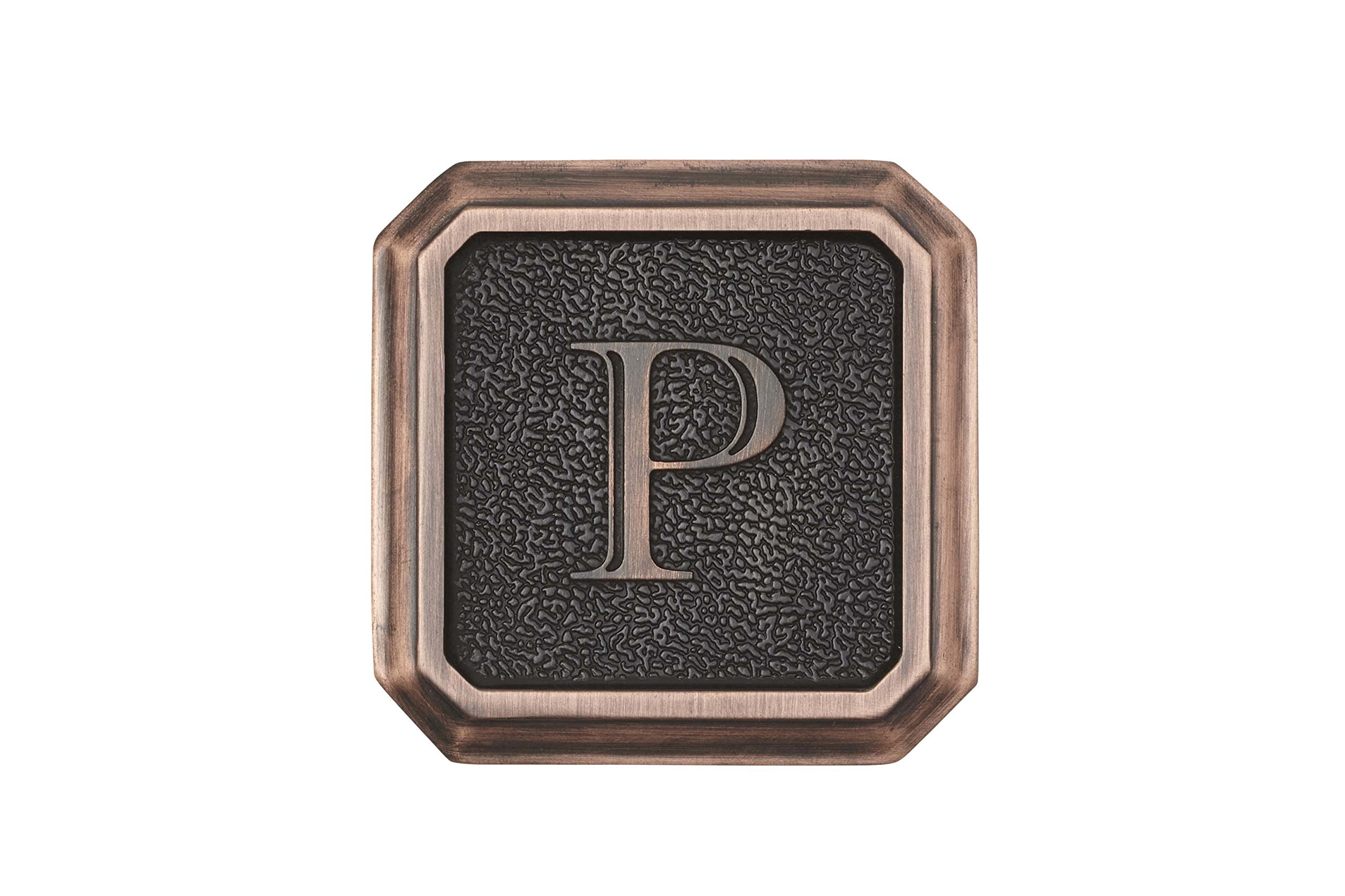 Architectural Mailboxes 3650ORB-P Aluminum Oil Rubbed Bronze Monogram - Letter''P'' by ARCHITECTURAL MAILBOXES