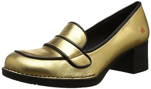 Bristol Loafer - Zapatos de Tacón Mujer, Color Dorado (Fantasy Gold), Talla 37 (4 UK) Art