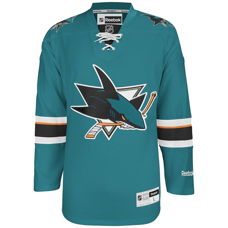 finest selection e1f87 66dd7 Reebok San Jose Sharks Teal Premier Jersey
