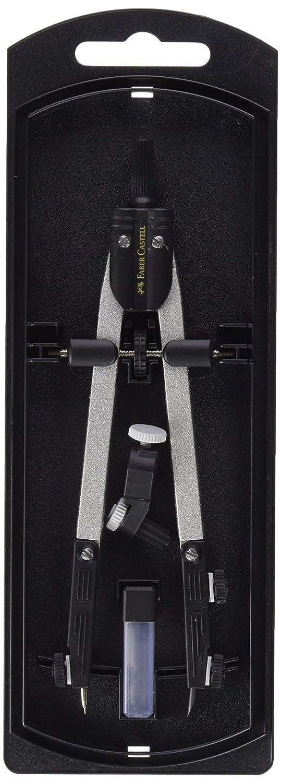 Faber Castell  Compás de ajuste rápido con tornillo central articulaciones ambos