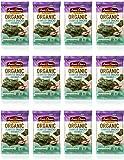 Annie Chun's Organic Seaweed, Sea Salt, 0.16-oz (12 Count), Keto, Vegan, & Gluten-Free Snack, America's #1 Selling…