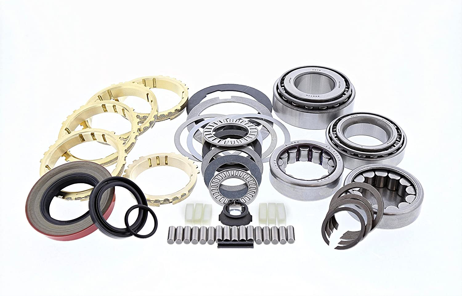 BK-107WS T-5 Non World Class 5 Speed Trans Rebuild Overhaul Kit GM Chevy Ford