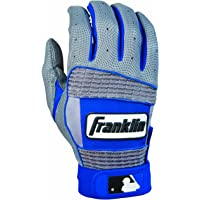 Franklin Neo Classic II Series Adult Batting Gloves - Gray/Royal