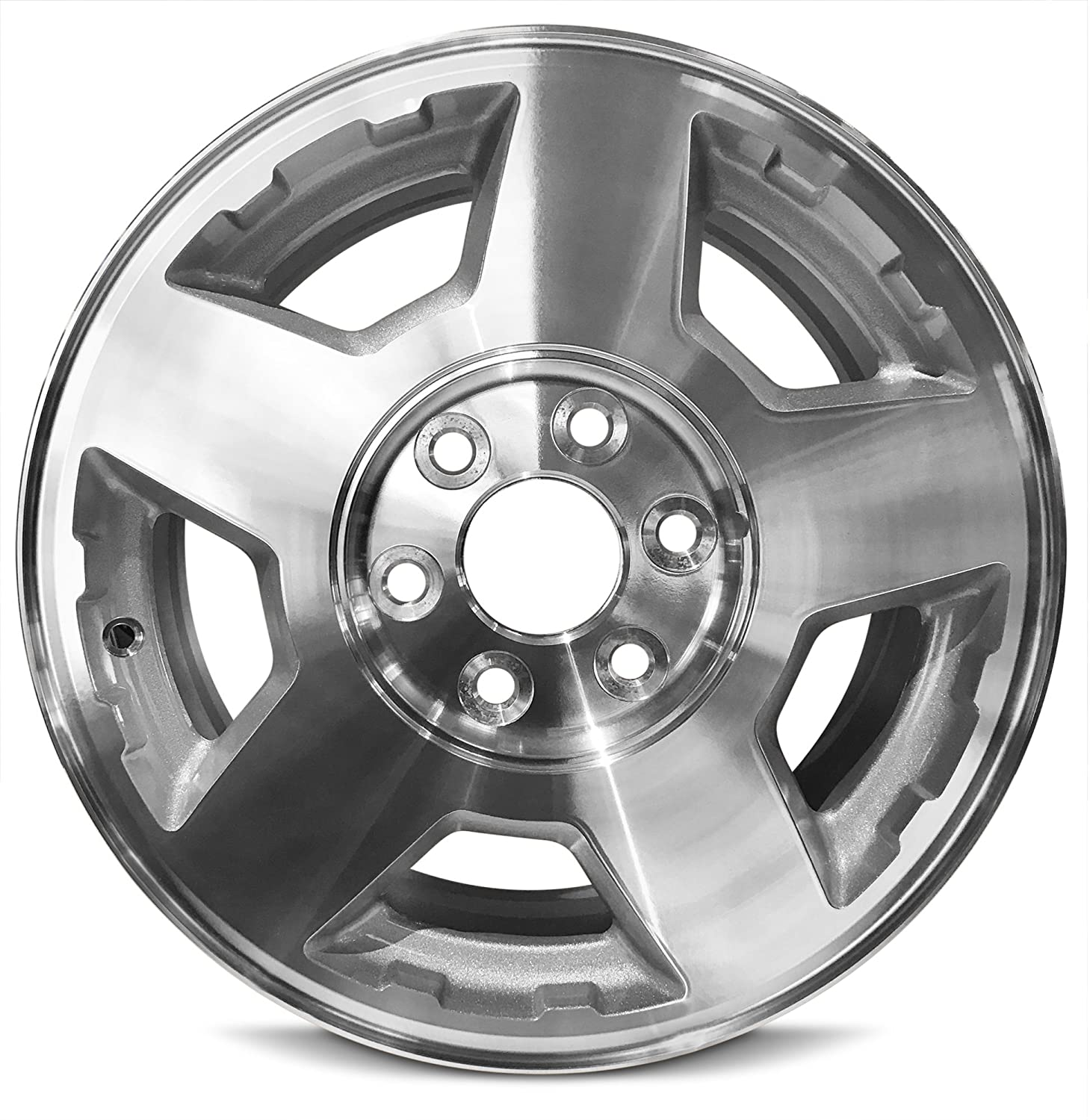 Road Ready Car Wheel For 2004 2007 Chevrolet Silverado 1500 2004 2006 Chevrolet Tahoe 17 Inch 6 Lug Gray Aluminum Rim Fits R17 Tire Exact Oem