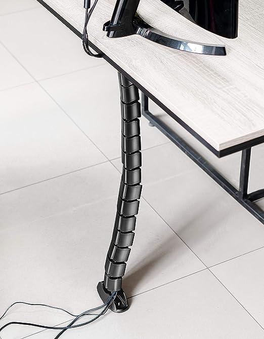 Conducto vertical para cables de Hicab para debajo del escritorio ...