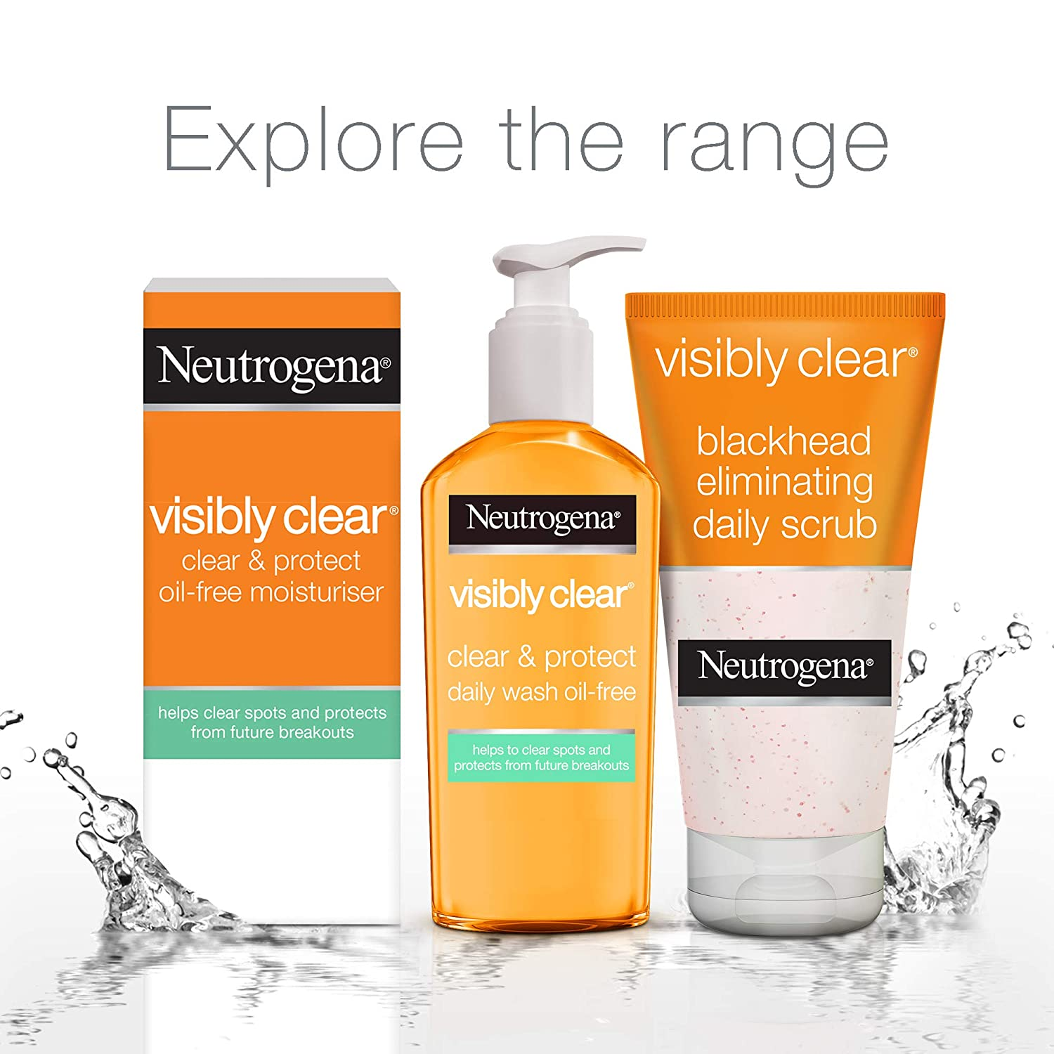 Neutrogena Visibly Clear Blackheads Eliminating Daily Scrub ...