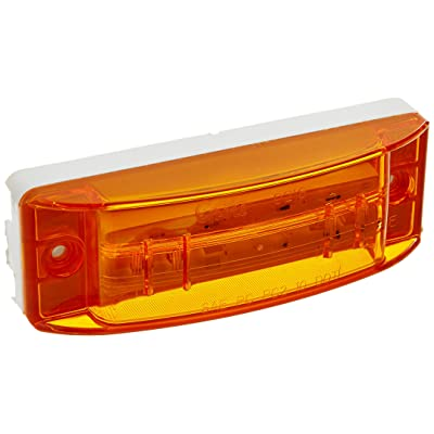 Grote 47163 SuperNova Sealed Turtleback II LED Clearance Marker Light (PC Rated, Optic Lens, Male Pin): Automotive