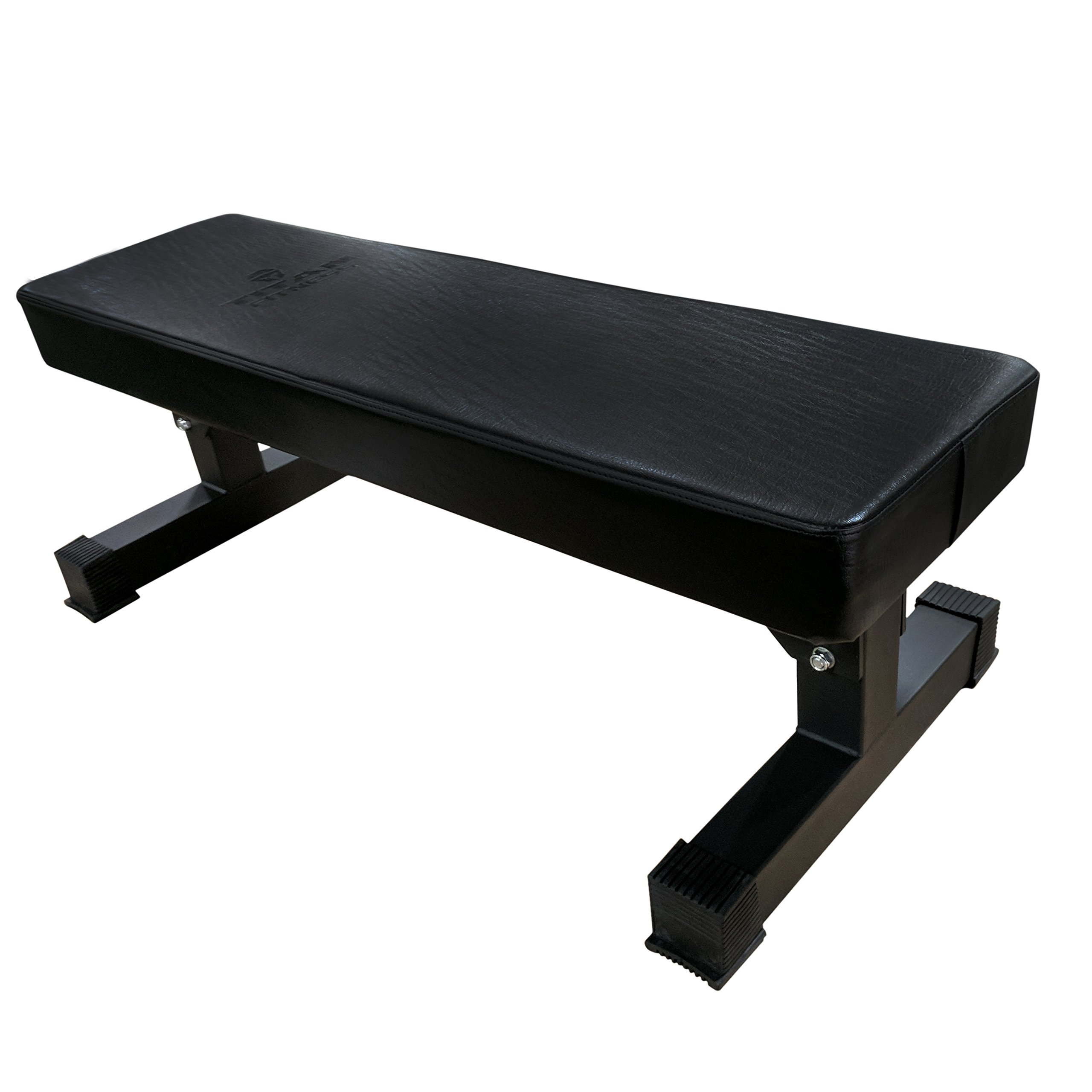 Titan Hefty Thick Pad Weight Bench - 1,200 lb Capacity by Titan Fitness