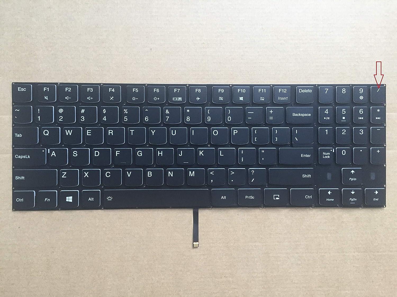 Original New Lenovo Legion Y7000 Series Laptop Keyboard US Black With Backlit