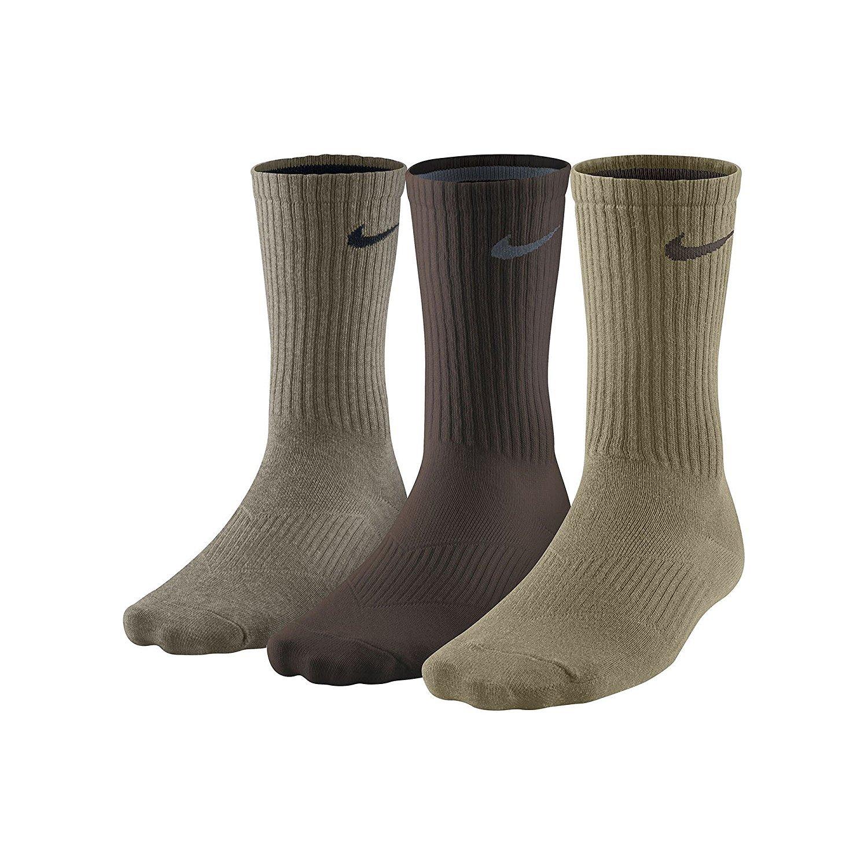 82fc10846 Nike Mens Moisture Wicking Performance Cotton Crew Socks ...