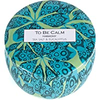 To Be Calm Harmony - Sea Salt & Eucalyptus - Mini Soy Candle