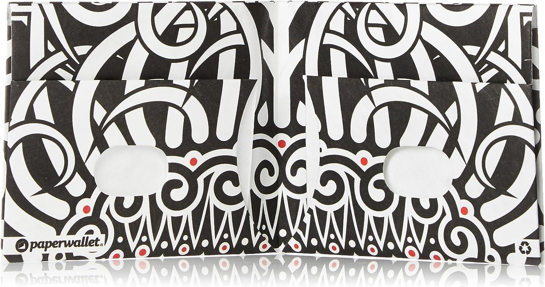 Blanc Rouge Paperwallet Portefeuille Aztec Smile m/âle poly/éthyl/ène Noir