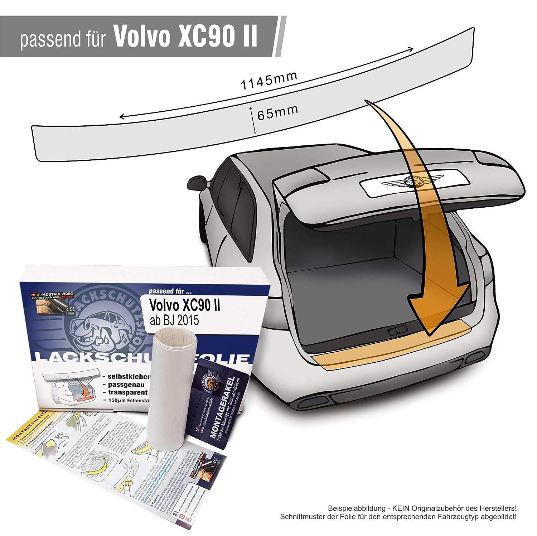 Lackschutzshop transparent 150/µm f/ür Modell Siehe Beschreibung Passform Lackschutzfolie als Selbstklebender Ladekantenschutz Autofolie und Schutzfolie