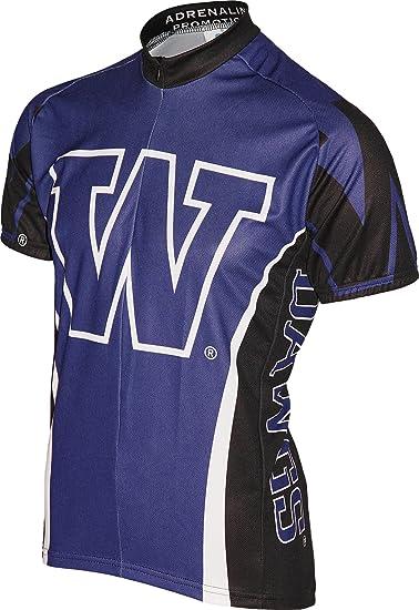best sneakers 095bd 8318b NCAA Washington Huskies Cycling Jersey, Purple
