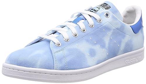 best cheap c4d63 52ac1 adidas PW HU Holi Stan Smith, Scarpe da Ginnastica Basse Uomo, Bianco  (Footwear